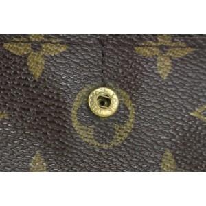 Louis Vuitton Monogram Porte Tresor Sarah Long Wallet 13lvs18