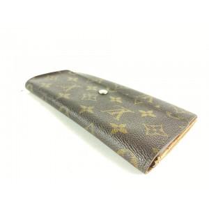 Louis Vuitton Monogram Sarah Bifold Long Wallet Porte Tresor 13LVS128