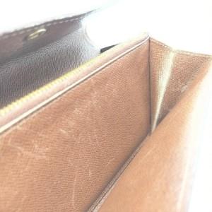 Louis Vuitton Monogram Sarah Long Wallet Portefeuille Porte Tresor 861981