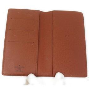 Louis Vuitton Monogram Long Wallet Diary Cover Agenda Poche Planner 862076
