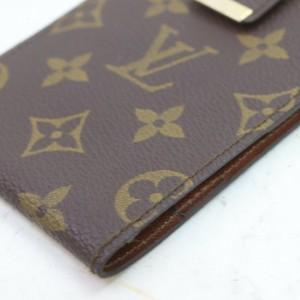 Louis Vuitton Monogam Flap Wallet Ultra Rare Limited Vintage 872594