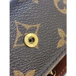 Louis Vuitton Monogram 6 Key Holder Wallet 8LVA1117