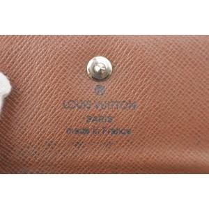 Louis Vuitton Monogram 6 Key Holder Case Wallet 6LK1129