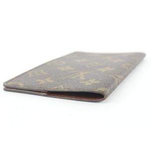 Louis Vuitton Monogram Bifold Card Wallet Checkbook Holder 94lvs427
