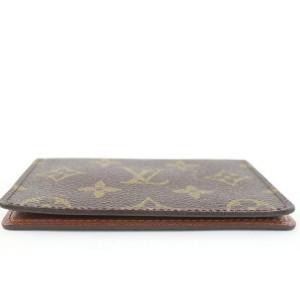 Louis Vuitton Monogram Card Case Wallet ID Holder 65lvs126