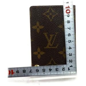 Louis Vuitton Monogram Card Case Organizer Wallet 872598