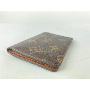 Louis Vuitton Monogram Card Holder Cartes Case 15lva1116