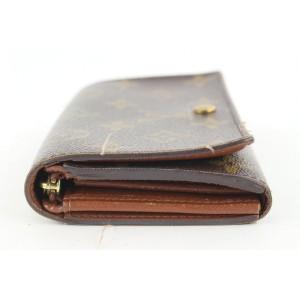 Louis Vuitton Monogram Compact Zippy Snap Wallet 144lvs430