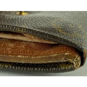 Louis Vuitton Monogram Elise Compact Wallet 12LVS128