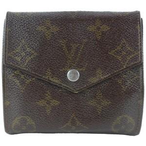 Louis Vuitton Monogram Elise Snap Compact Wallet 3lk0122