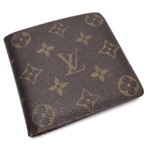 Louis Vuitton Brown Monogram Marco Bifold 232314 Wallet