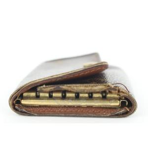 Louis Vuitton Monogram Multicles 6 Key Holder Wallet Case 13lk0122