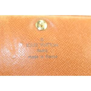 Louis Vuitton Monogram Snap Wallet 2lk0122