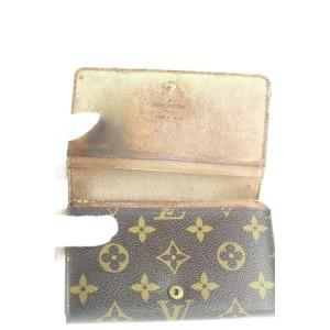 Louis Vuitton Monogram Snap Compact Wallet 162lvs25