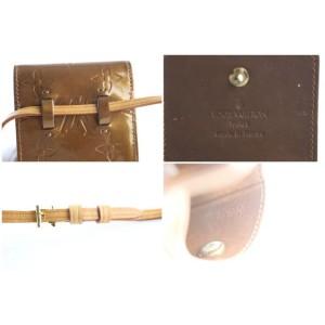 Louis Vuitton Monogram Vernis Bronze Walker