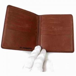 Louis Vuitton Bifold Men's Wallet Marco Multiple Florin Slender 859r525