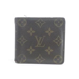 Louis Vuitton Monogram Multiple Slender Bifold Wallet 14LK0113