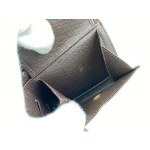 Louis Vuitton Rare Centenaire Edition Damier Ebene Bifold Multiple Wallet 6L102