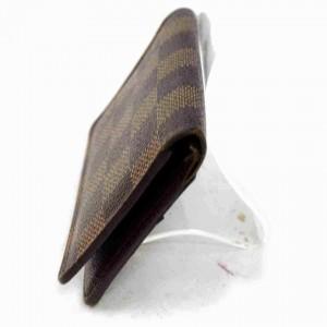 Louis Vuitton Damier Ebene Card Case Organizer De Poche Wallet Holder 860362