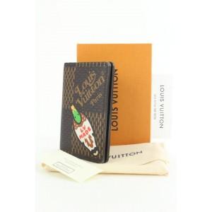 Louis Vuitton Rare Nigo Damier Geant Organizer De Poche Card Case Wallet  862940