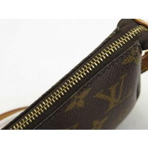 Louis Vuitton Monogram Pochette Accessoires with Long Strap Pouch Accessories 861458