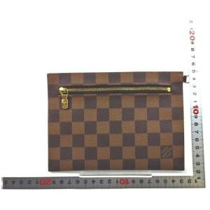 Louis Vuitton Damier Ebene Accessories Pouch Toiletry Pochette 861732
