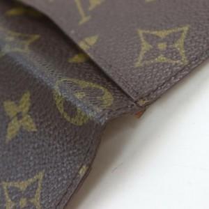 Louis Vuitton Monogram Card Case Pochette Cartes Visite Wallet 861974