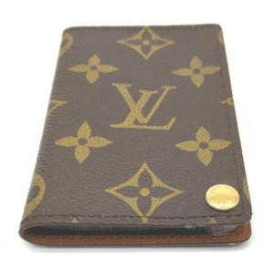 Louis Vuitton Monogram Card Case Porte Cartes Credit Pression 861741