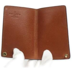Louis Vuitton Monogram Card Case Porte Cartes Credit Pression 863190