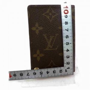 Louis Vuitton Monogram Card Case Porte Cartes Credit Pression Photo Album 860260