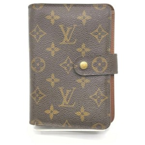 Louis Vuitton Monogram Porte Papier Zip Wallet 859726