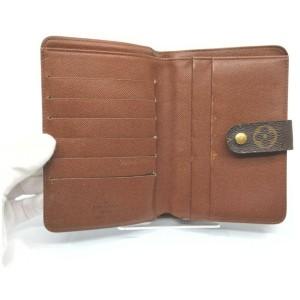 Louis Vuitton Monogram Porte Papier Zip Wallet  861726
