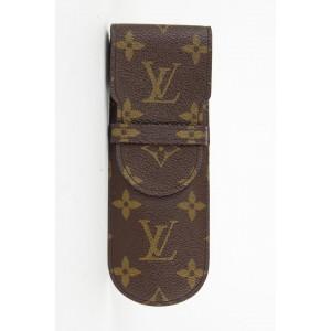 Louis Vuitton Monogram Etui a Lunettes Rabat Eyeglass Case 24lvs1230