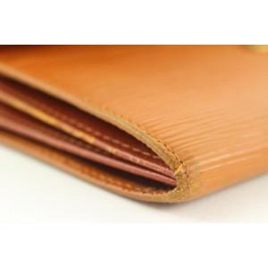 Louis Vuitton  Brown Epi Leather Long Sarah Wallet 2ld0121