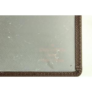Louis Vuitton Brown Taiga Card Case ID Holder 329lvs518