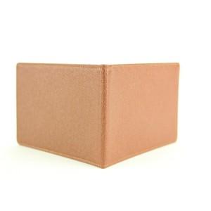 Louis Vuitton Brown Taiga Leather Card Holder Wallet Case 8lvm128