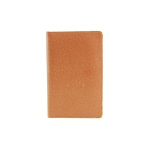 Louis Vuitton Brown Taiga Leather Card Holder ID Wallet 6lvs1231