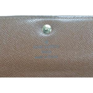 Louis Vuitton 8LK0120 Monogram Bifold Long Sarah Porte Tresor