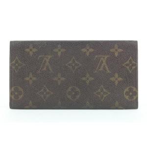 Louis Vuitton Monogram Flap Wallet Vintage Porte Tresor Sarah 313lvs517