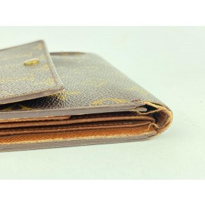 Louis Vuitton Monogram Porte-Tresor Etui Papiers Wallet 9L102