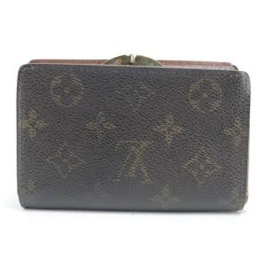 Louis Vuitton Kisslock Porte Viennois Wallet Monogram French Purse Twist 26LK0116