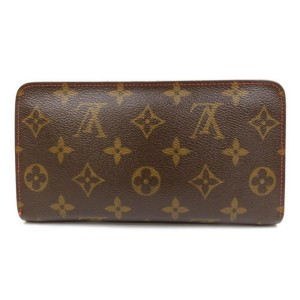 Louis Vuitton Monogram Cherry Murakami Zippy Wallet Zip Around 234387