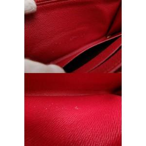 Louis Vuitton Brown Zippy Monogram Cherry Murakami Zip Around 234387 Wallet