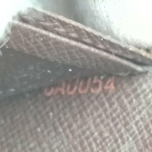 Louis Vuitton Damier Ebene Zippy Wallet  Porte Monnaie Zippe Zip Around 862197