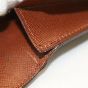 Louis Vuitton Monogram Sarah Long Wallet Pochette Monnaie Credit 862292