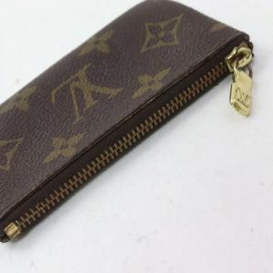 Louis Vuitton Monogram Pochette Cles Keychain Key Pouch 862770