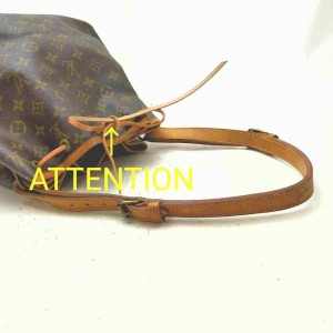 Louis Vuitton Monogram Petit Noe Drawstring Bucket Hobo 861502