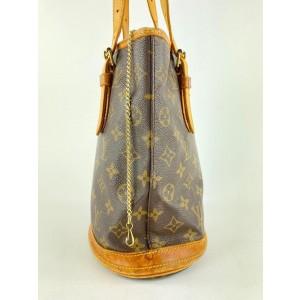 Louis Vuitton Monogram Bucket Petite Bucket Bag 8lvs1231