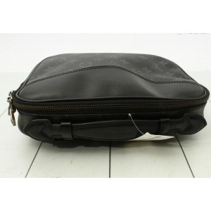 Louis Vuitton Black Monogram Eclipse Bumbag Waist Pouch Fanny Pack  861817