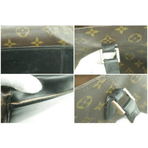 Louis Vuitton Large Monogram Cabas Alto GM Tote 10LK1226